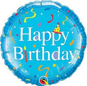 Feliz Aniversário Azul