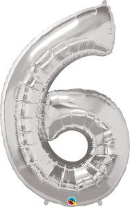 Número Seis - prata