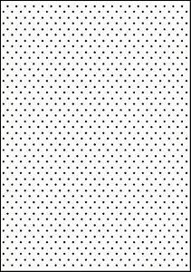 Placa De Textura Emboss A4 - Modelo Poá / Bolinhas