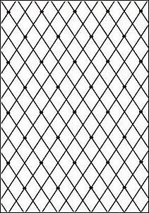 Placa De Textura Emboss A4 - Modelo Losango