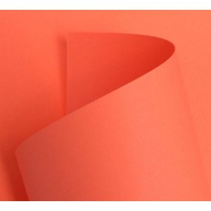 Papel Color  - Coral 180g - A4 - 20 Folhas (Costa Rica)