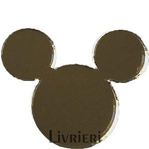 Aplique/Pingente/Recorte - Mickey (cabeça) c/ 10 unidades