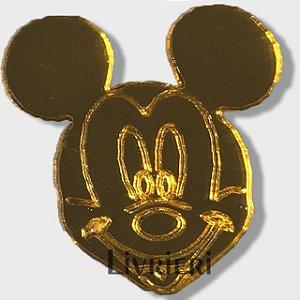 Aplique/Pingente/Recorte - Mickey c/ 10 unidades
