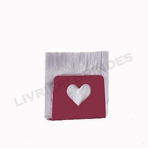 Porta Guardanapos - Coração