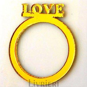 Anel Porta Guardanapos - Love