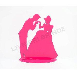 Enfeite de Mesa / Topo de Bolo - Beijo na mão