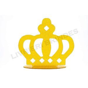 Enfeite de Mesa / Topo de Bolo - Coroa