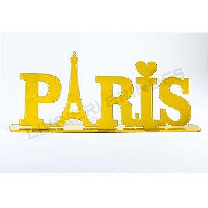 Enfeite de Mesa / Topo de Bolo - Paris