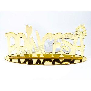 Enfeite de Mesa / Topo de Bolo - Princesa