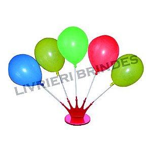 Suporte para 5 balões - PÇ