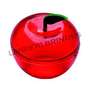 Caixinha Maça cristal vermelho - Pacote com 10