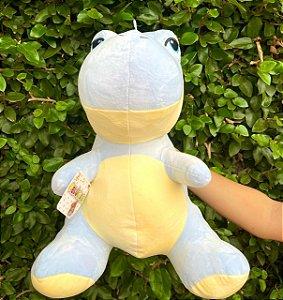 Pelucia Dino Azul  39X33cm
