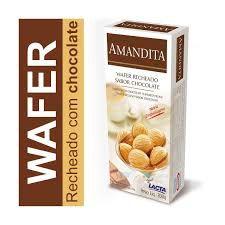 Caixa de chocolate Amamdita 200 gramas