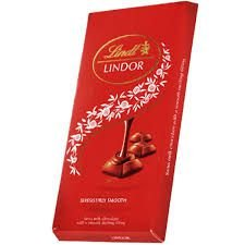 Chocolate Suíço Lindt Lindor Milk Tablete 100 g