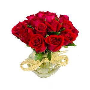 Luxuoso Arranjo de Rosas Premium