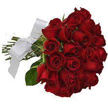 Buquê de 24 Rosas Vermelhas