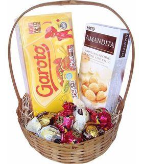 Cesta Mimo de Chocolate