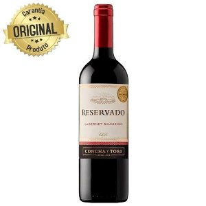Vinho Tinto Chileno Reservado 750 ml