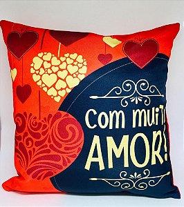 Almofada ''Com Muito Amor''