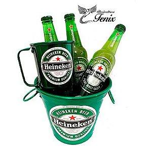 Kit Balde de Cervejas Heineken