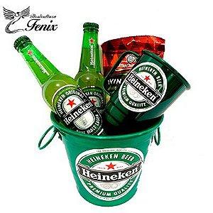 Kit Balde de Cervejas Heinekein Pequeno