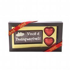"""Chocolate """"Você é inesquecível"""""""