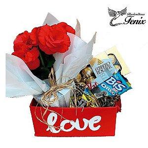 Kit Love com Mini Begonia