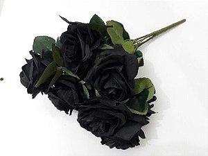 Enigmático  Buque de Rosas black