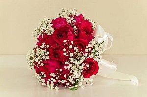 Buquê tradicional Rosas Vermelhas