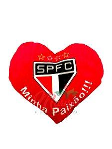 Almofada Coração São Paulo