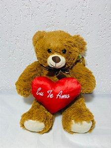 """Urso teddy """"eu te amo"""""""