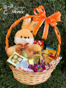 Cesta Happy Easter