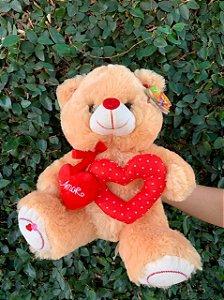 Urso Amor Coração Vazado