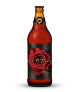 CERVEJA ARTESANAL DORTMUND RED ROSE - 600ml
