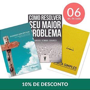 Evangelismo + Discipulado + Estudo Bíblico  6 unid