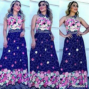 24edf3a482 Vestido longo - Vest Premium
