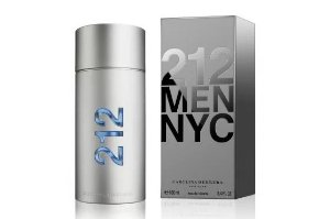 212 Men Nyc Carolina Herrera Eau de Toilette - Perfume Masculino 100ml