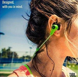 Fones de Ouvidos JBL Synchros Reflect Sport com Microfone - Verde