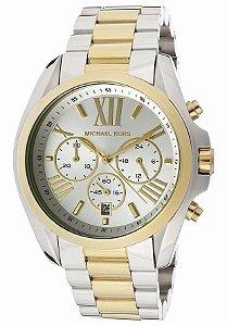 Relógio Michael Kors Prata e Dourado Feminino - MK5627