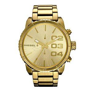 Relógio Diesel Dourado Masculino  DZ4268