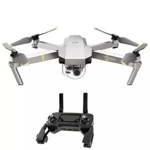 Drone Dji Mavic Pro Platinum 12.35mp Ultra Hd 4k C/ Braços