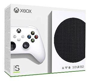 Console Microsoft Xbox Series S 512GB - Branco