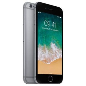 Apple iPhone 6S  32G Tela 4.7'' 12MP/5MP iOS 9 - Cinza Espacial