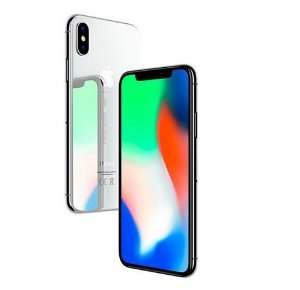 "Apple iPhone X 64GB Tela Super Retina OLED 5.8"" 12MP/7MP iOS - Prata"