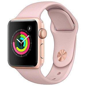 Apple Watch Série 3 42mm MQL22LL/A A1859 - Dourado