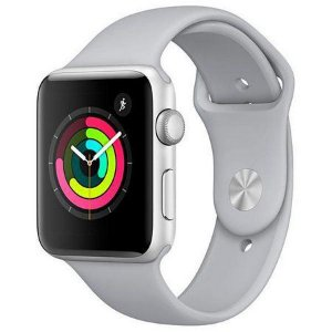Apple Watch Série 3 38mm MQL02LL/A A1859 - Prata Gelo