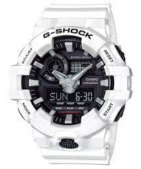 Relógio Casio G-Shock Branco GA-700-7A - Masculino