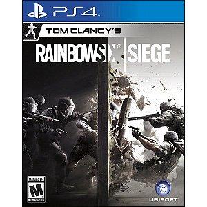 Jogo Rainbow Six Siege - Ps4
