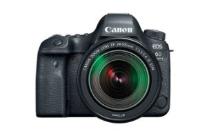 Camera Canon EOS 6D Mark II com objectiva EF 24-105mm IS STM - WiFi habilitado