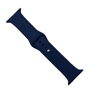Pulseira Apple Watch Silicone 42mm - Azul Marinho